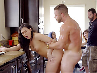 Proudly fucking his stepdaughter