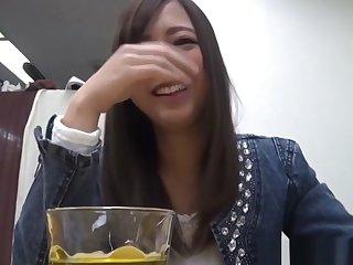 Asian Infant Rubs Herself