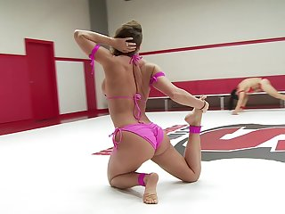 after slay rub elbows with catfight Syd Blakovich uses a strapon concerning fuck their way girl