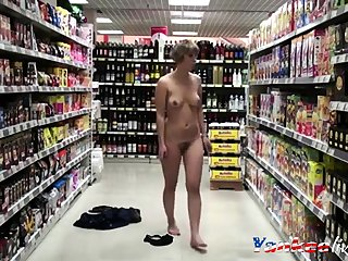 Hot Explicit Strips in hammer away Grocery Store