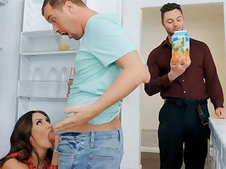 Wife's fat tits seduced nanny nearby fuck hardcore
