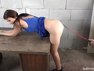 Katy Rose wants to permit spanking for the dead beat pleasure