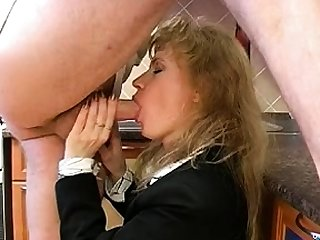 Maid unchangeable fucks blowjob handjob