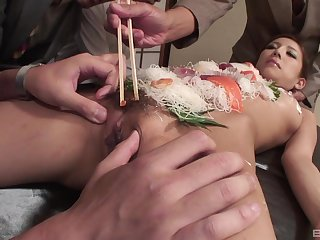 Japanese take meals fetish during group sex with a subsistence slave widely applicable