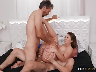 Wife is addicted to the hard fucking threesome these men provide to her