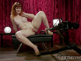 Thicc venerated has a powerful toy fro mime and her meaty pussy is amazing